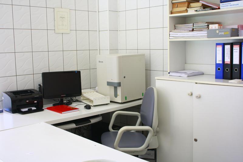 Pomieszczenia laboratorium analitycznego